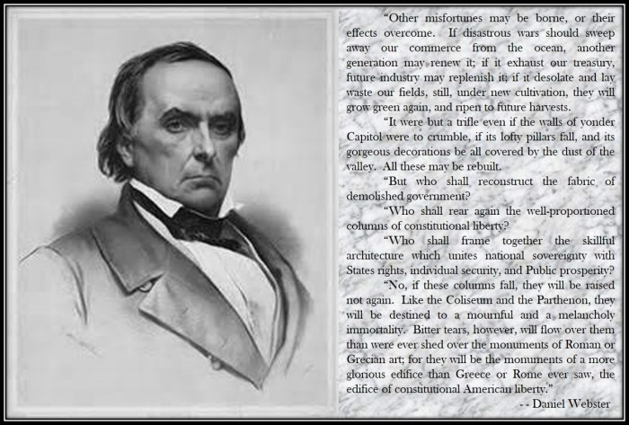 Daniel Webster on the Constitution